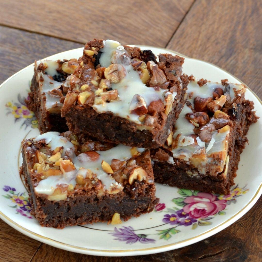 Brownies met amandelmeel